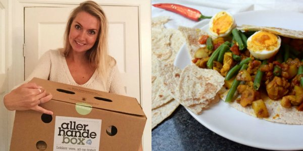 allerhande, box, food box, roti, foodness, claartje, review
