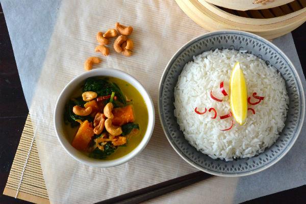 Hello Fresh, curry, recept