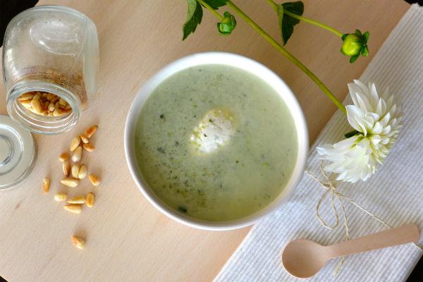 broccoli, soep, gezond, kruidenkaas, makkelijk, slank