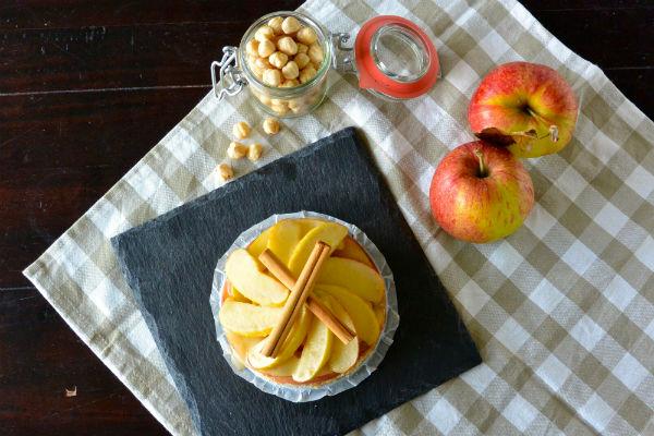 taart, vegan, slank, appeltaart, appel, kookboek, e-book, foodness, claartje