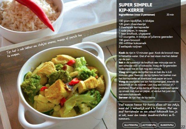 foodness fastfood, e-book, boek, book, receptenboek, recepten