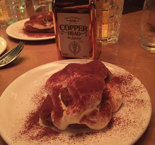 copperhead, gin, 5&33, art'otel, gin tonic, foodness