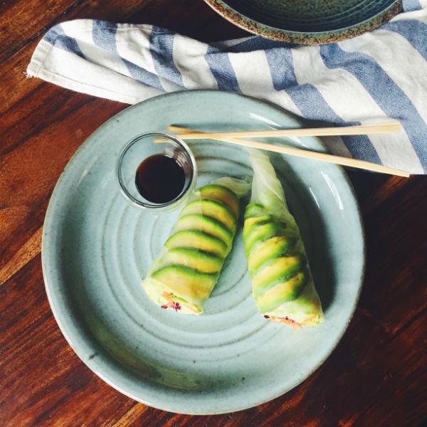 avocado, sushi, foodness, claartje, 7 geboden, eat clean,