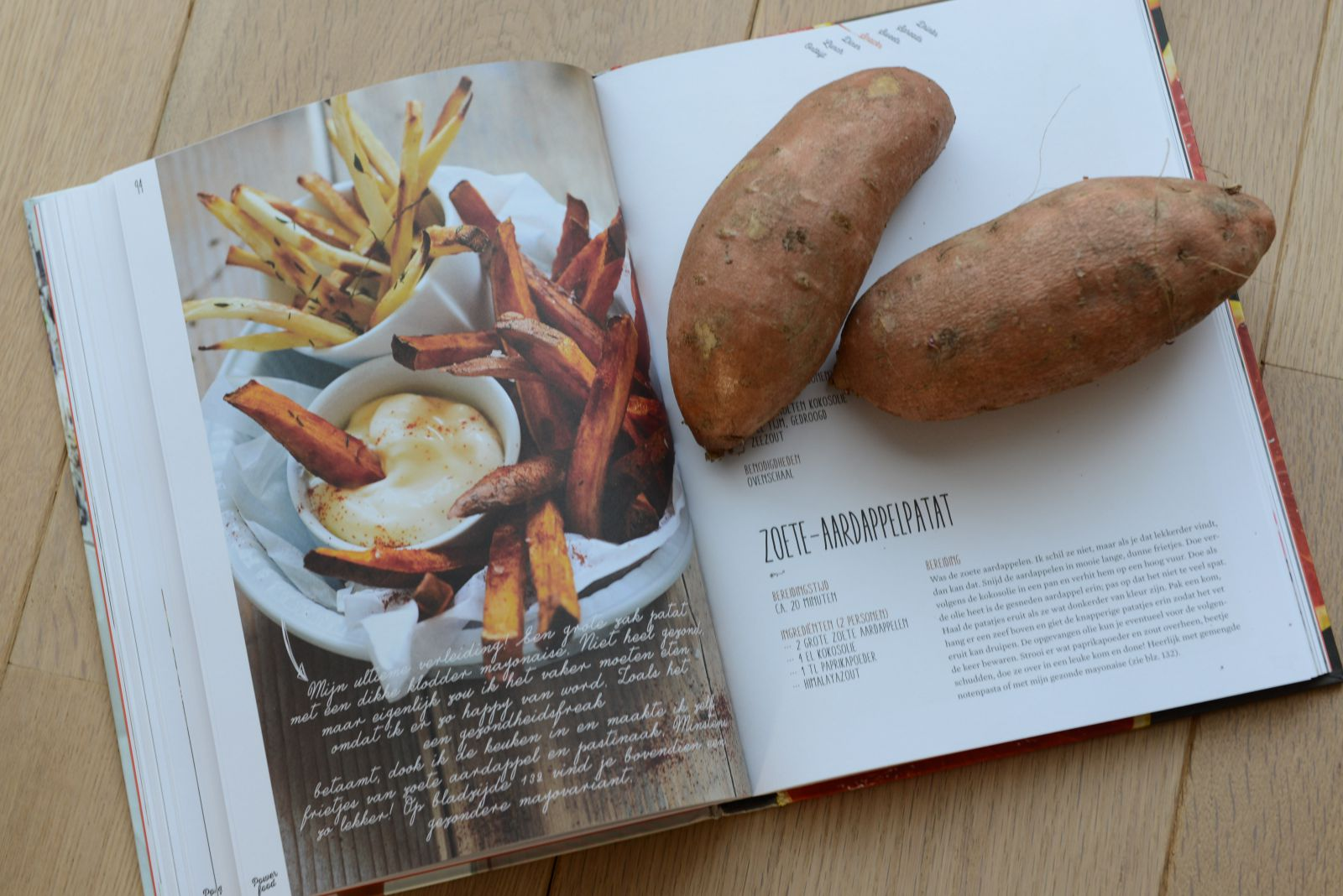 Rens Kroes, recensie, kookboek, powerfood