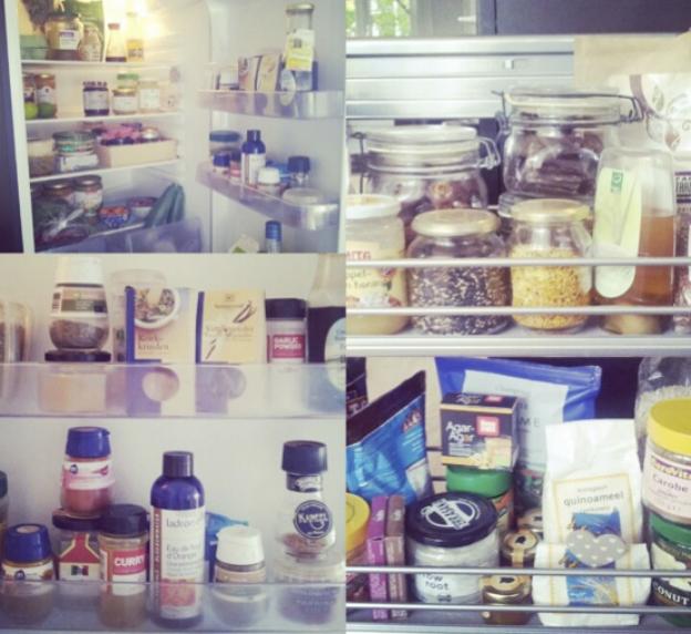 De koelkast van Merel