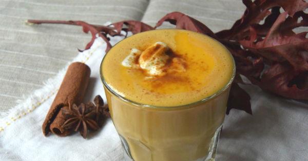 Pumpkin spice latte, gezond, variant, foodness
