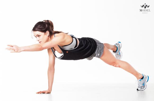 Model Workout: gezond blijven eten voor een strak lijf