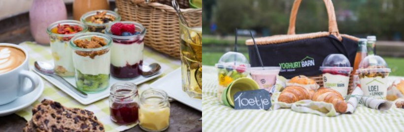 Yoghurt Barn, win, brunch, picknick