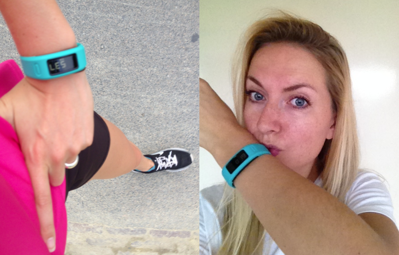 Garmin, vivofit, foodness, test, Claartje