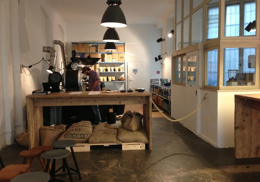 The Barn Roosters, brew bar, koffie, Berlijn, hotspot