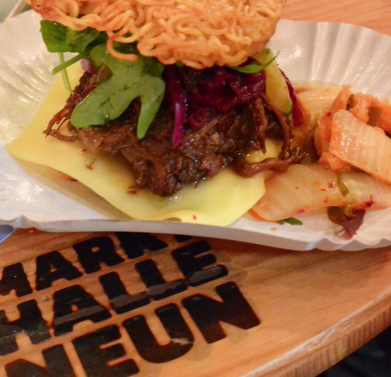ramen burger, berlijn, fraelein kimchi, foodness, hotspots, food spots