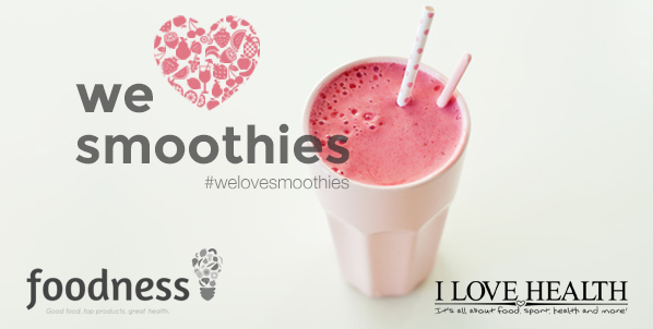 We love smoothies, workshop, win, goodiebag