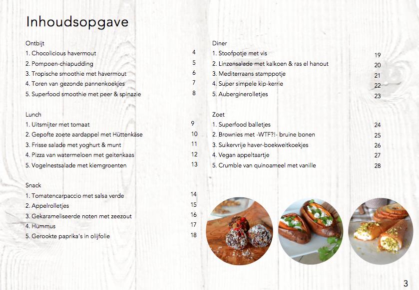 foodness, e-book, fastfood, recepten, boek, receptenboekje