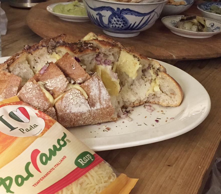 parrano, kerst, diner, borrel brood, foodness