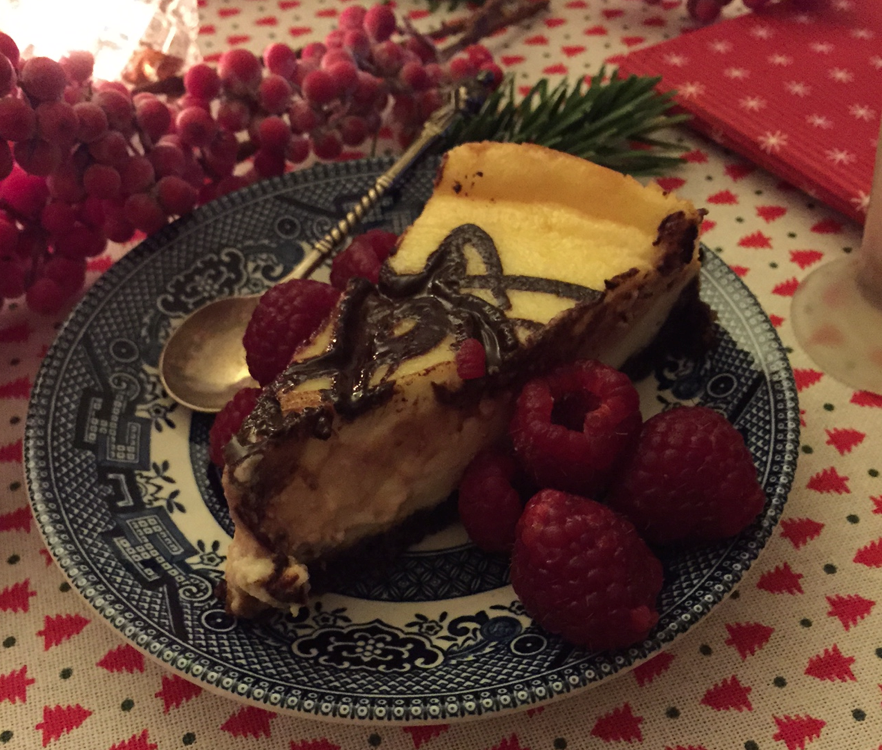 cheesecake, kerst diner, the lion kitchen, foodness