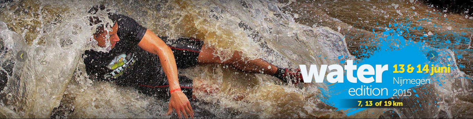 Strong viking run, water edition, foodness, sport