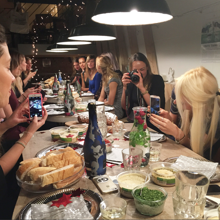 yoghurt barn, bloggers, girlslove2eat, foodness, kerstdiner