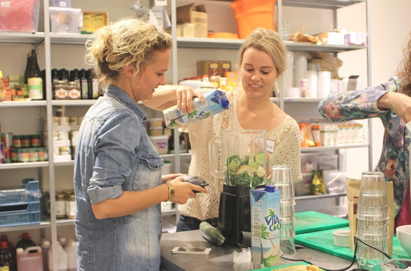 workshop, we love smoothies, smoothie, blender, magimix, vita coco, foodness
