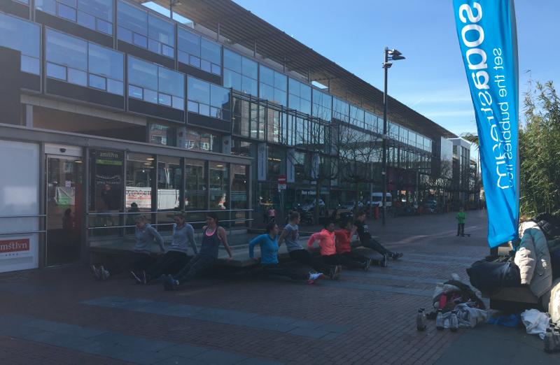 sodastream, bootcamp, waterbar, amstelveen, foodness, sport