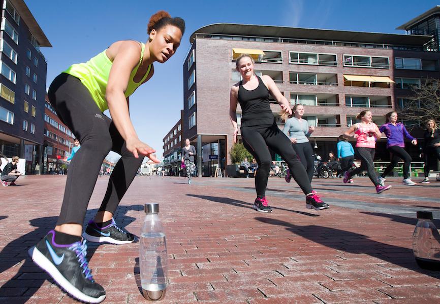 bootcamp, amstelveen, sodastream, sport, buiten, foodness, claartje, water, sprint