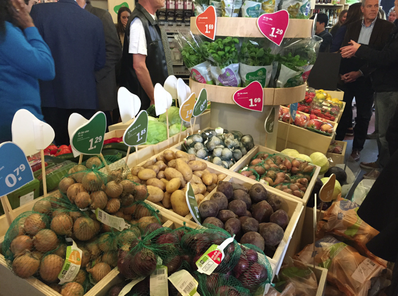 Albert heijn, bio, biologisch, opening, pop up