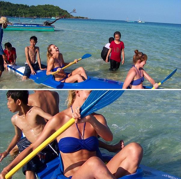 kano, claartje, vietnam, fit, abs, buikspieren, foodness, claartje schroder, zo blijf je fit op vakantie