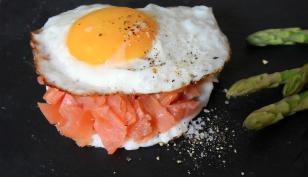 zalm, ei, burger, asperge, eat clean, foodness, clean, claartje