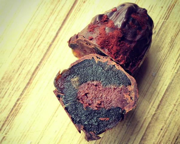 Veganistische chocoladebonbon van Sofieke