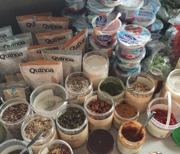we love smoothies, workshop, smoothie, foodness, ilovehealth, optimel, bowl, smoothie uit een kom, gezond, demo, evenement, claartje, optimel, acai
