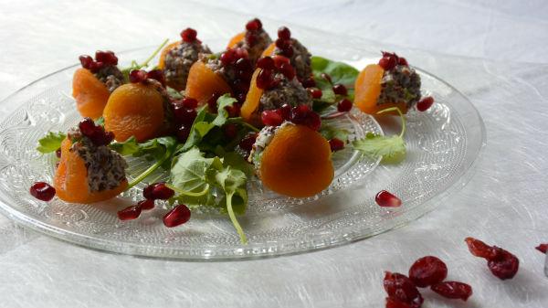 abrikoos, recept, foodness, quinoa, granaatappel, gezond, slank