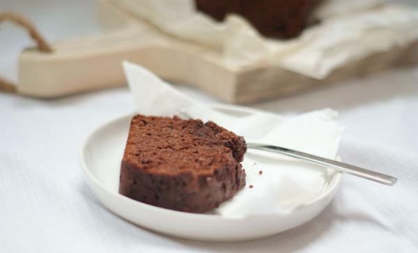 gezond cake recept: gember-chocolade cake