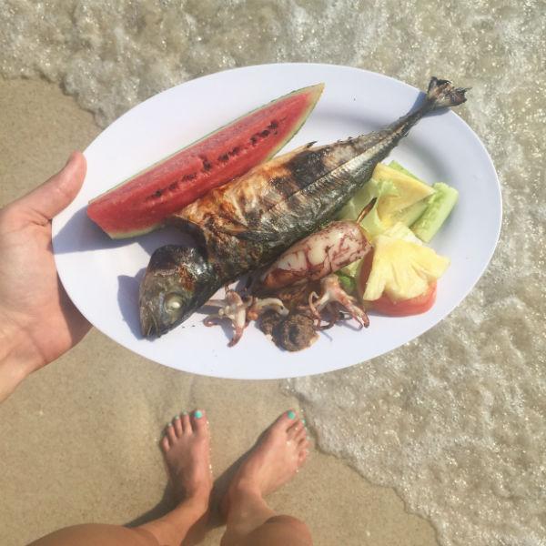 fit, vakantie, slank, buikspieren, abs, gezond, reizen, foodness, reis