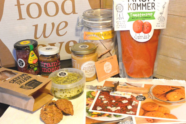 Foodwelove, box, foodness, review, van hollandse bodem