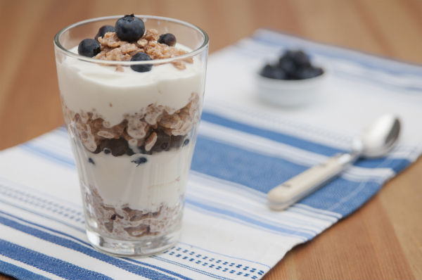 Hanneke, tips om af te vallen, yoghurt, fruit, gezond