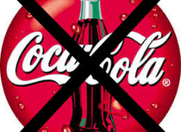No more coca cola