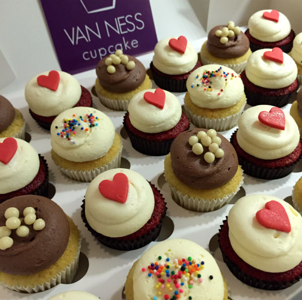 Van Ness cupcakes, foodness, kerstdiner, girlslove2eat