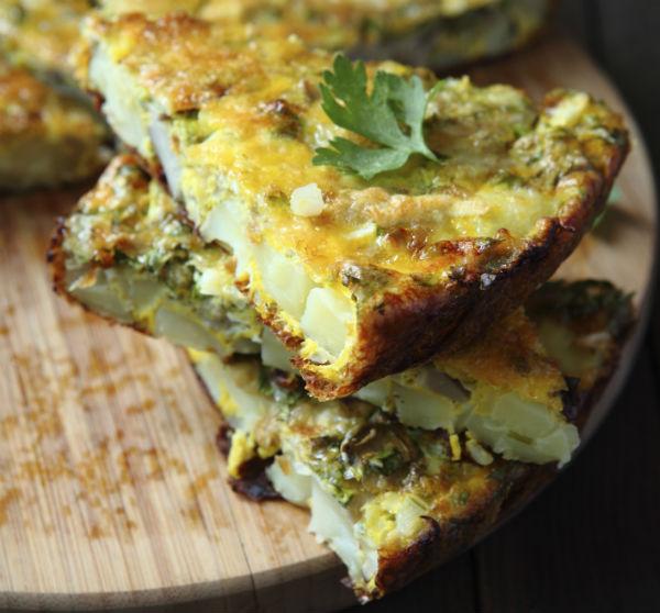 omelet, vegetarisch