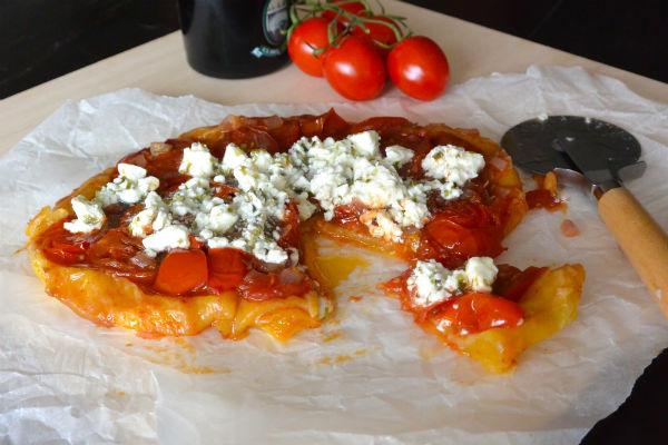 tarte tatin, tomaten, geitenkaas, bladerdeeg, food we love, box
