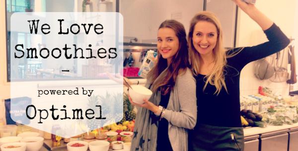 we love smoothies, workshop, optimel, smoothie
