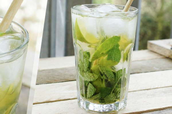 alcoholvrije mojito cocktail