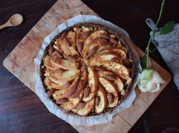 recept voor gezonde appeltaart