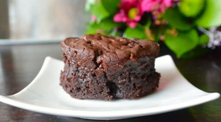 Snelle choco mug cake met amandelmeel