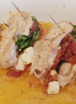 Gevulde kip met feta en zongedroogde tomaat | Hoofdgerecht