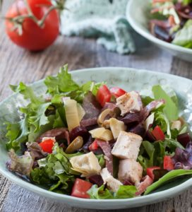 Zomerse Italiaanse salade