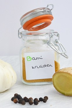 Bamikruiden recept