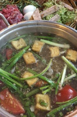 Hot pot pan