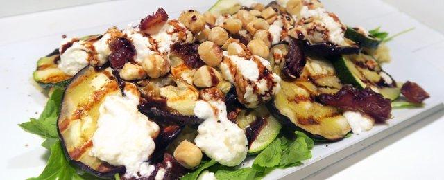 Vegetarische couscous hazelnoot