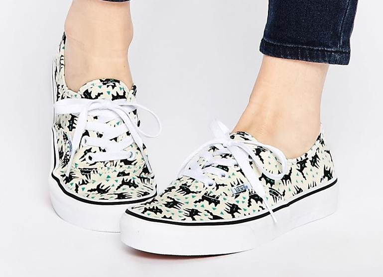 Vans Eley Kishimoto Print Authentic Trainers