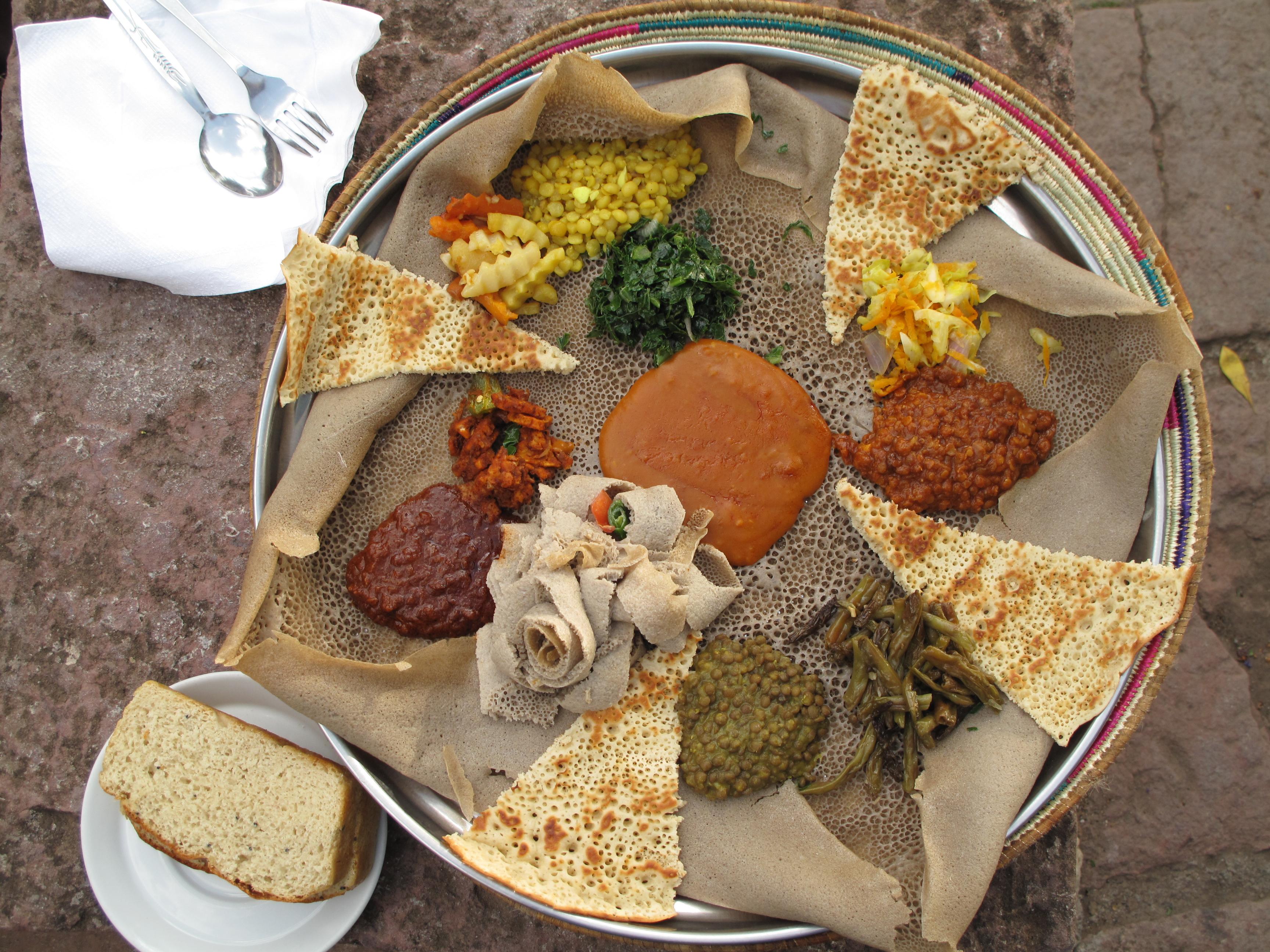 Injera Ethiopisch