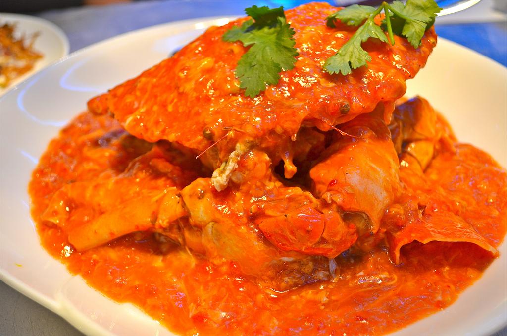 chili crab Singapore